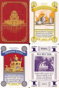 World's Fair 1893: Promo Cards
