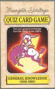 Wrangler Heritage Quiz Card Game
