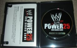 WWE Power 25 DVD Board Game