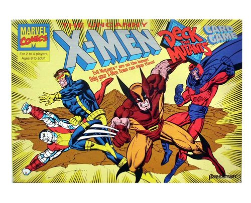 X-Men Deck the Mutants Card Game