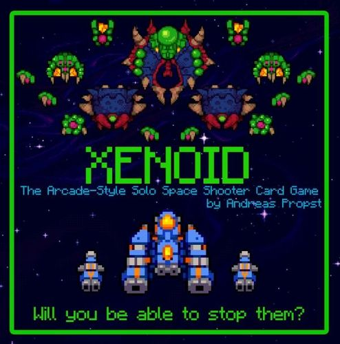 Xenoid: The Arcade-Style Solo Space-Shooter Card Game