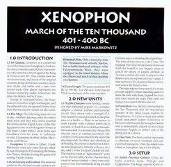 Xenophon – March of the Ten Thousand 401 - 400 BC