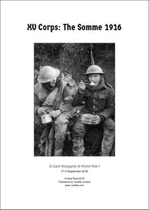 XV Corps: The Somme 1916