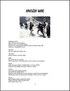 Yakuza War