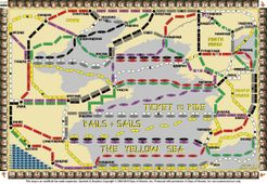 Yellow Sea (fan expansion of Ticket to Ride Rails and Sails)