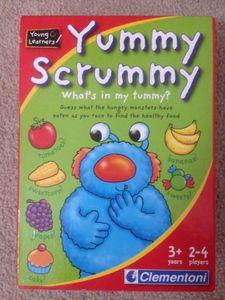 Yummy Scrummy, What's in my tummy?