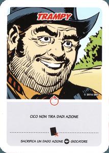 Zagor: Odissea Americana – Trampy Promo Card