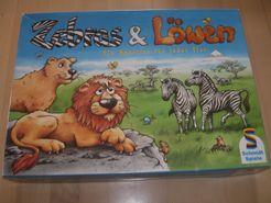 Zebras & Löwen