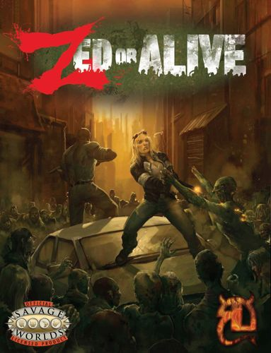 Zed or Alive: The Zombie Miniatures Game