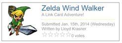 Zelda Wind Walker