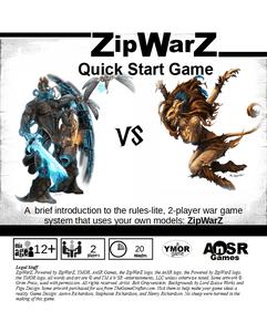 ZipWarZ Quick Start Game