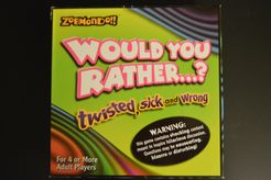 Zobmondo!! Would You Rather...? twisted, sick and wrong