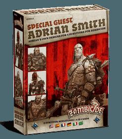 Zombicide: Black Plague Special Guest Box – Adrian Smith
