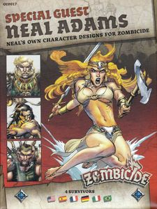 Zombicide: Black Plague Special Guest Box – Neal Adams