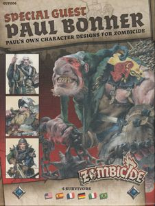 Zombicide: Black Plague Special Guest Box – Paul Bonner