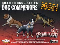 Zombicide Box of Dogs Set #6: Dog Companions