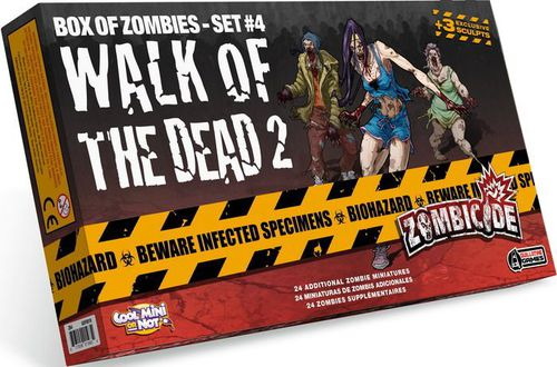 Zombicide: Box of Zombies Set #4 – Walk of the Dead 2