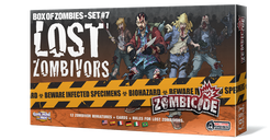 Zombicide: Box of Zombies Set #7 – Lost Zombivors