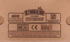 Zombicide: Invader – Orphans Gang Survivor Pack