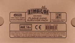 Zombicide: Invader – Plague Gang Survivor Pack