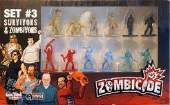 Zombicide Set #3: Survivors & Zombivors
