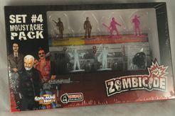 Zombicide Set #4: Moustache Pack