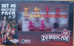 Zombicide Set #5: Moustache Pack #2