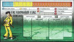 Zombicide Survivor: Cardboard Tube Samurai