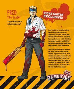 Zombicide Survivor: Fred the Trader