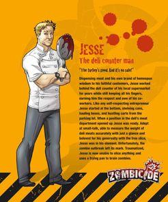Zombicide Survivor: Jesse