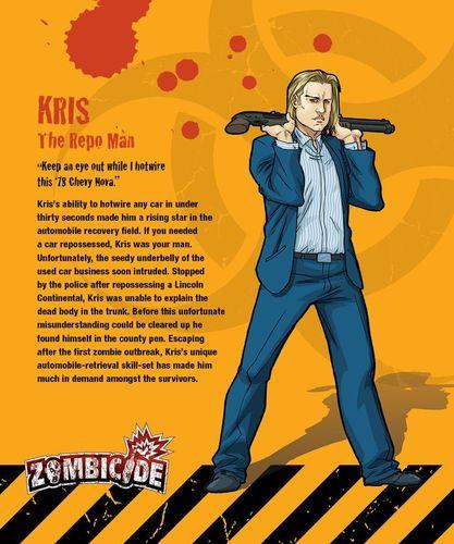 Zombicide Survivor: Kris