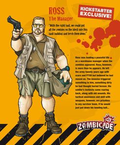 Zombicide Survivor: Ross