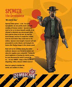 Zombicide Survivor: Spencer