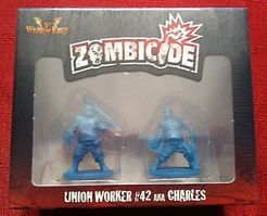 Zombicide Survivor: Union Worker #42 AKA Charles
