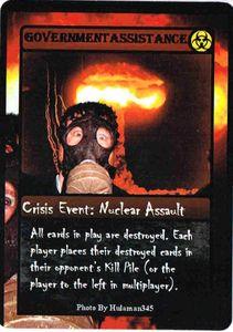 ZOMBIE APOCALYPSE: Crisis Event  Promo Cards