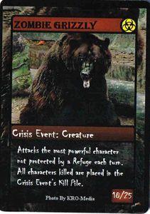 ZOMBIE APOCALYPSE: Zombie Grizzly Promo Card