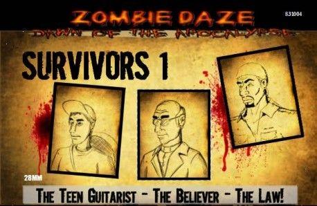 Zombie Daze: Survivors 1