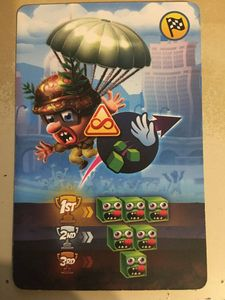 Zombie Tsunami: Promo card 1