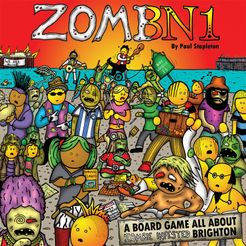 ZomBN1: A Board Game all About Zombie Infested Brighton