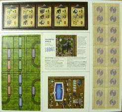 Zooloretto: Rio Grande Games Expansion Pack #2